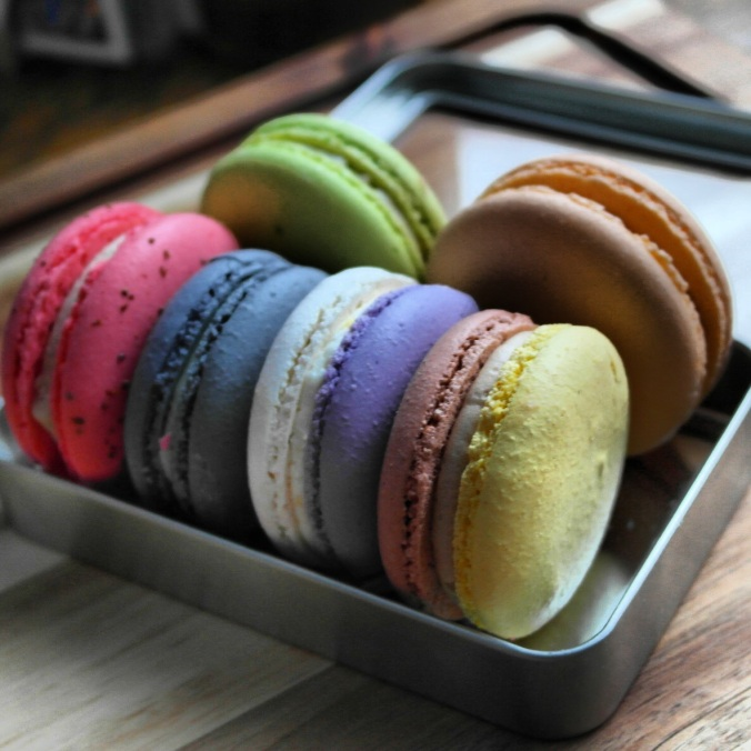 Macarons from Apple Pie Bakery Cafe