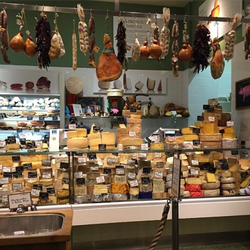 Heaven on Earth, aka the cheese counter at Eataly NYC