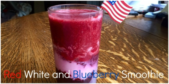 red white and blueberry header