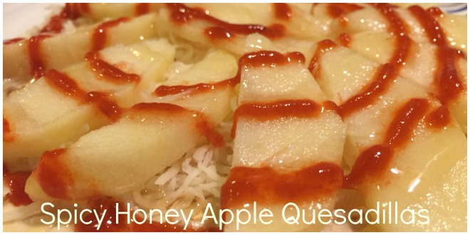 Spicy Honey Apple Quesadilla Header