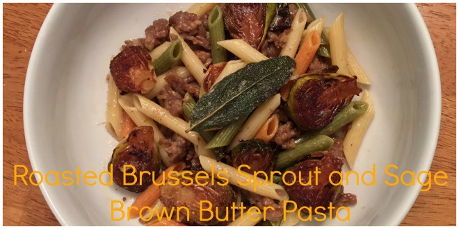 Brussels Sprout and Sage Pasta Header