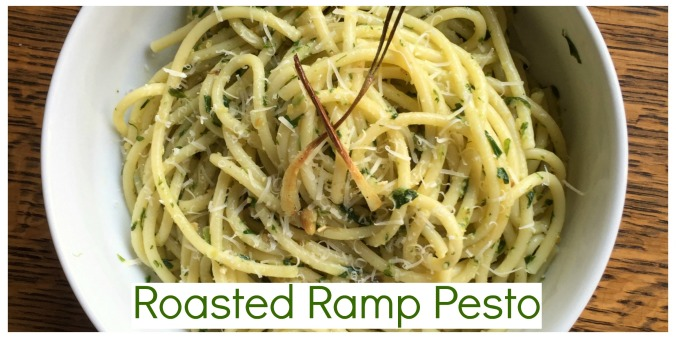 Roasted Ramp Pesto Header